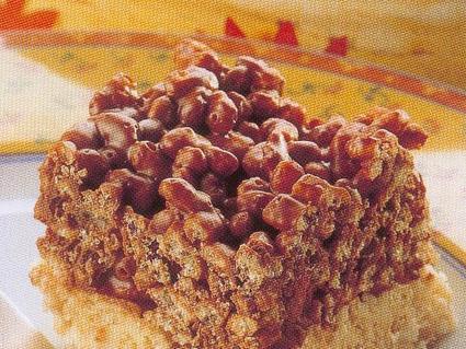 Recette de rochers de riz soufflé au chocolat