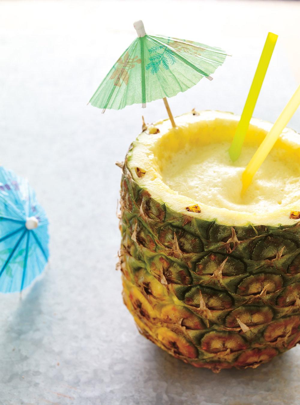 Cocktail à l'ananas épicé | ricardo