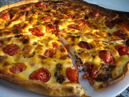 Recette tarte tomate et ricotta (tarte salée)