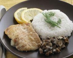 Recette filet de poisson aux champignons