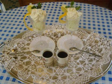 Recette de coupe le colonel sorbet citron, vodka