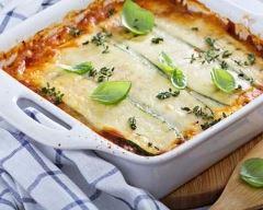 Recette lasagnes aux restes de ratatouille