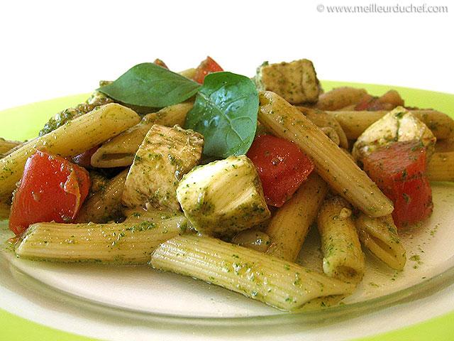 Salade de pâtes tomates-mozzarella  notre recette illustrée ...