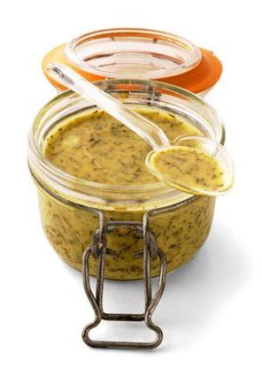 Recette de sauce moutarde à l'aneth (pour gravlax de saumon)