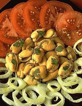 Salade de fenouil aux moules pour 4 personnes