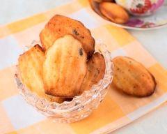 Recette madeleines aux pépites de chocolat
