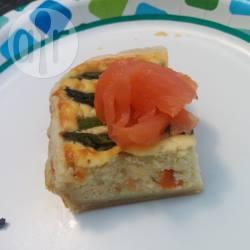 Recette tarte au saumon fumé et aux pointes d'asperges – toutes ...