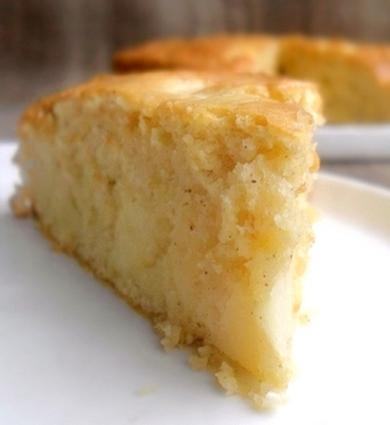 Recette moelleux aux pommes et à la cannelle (gâteau)