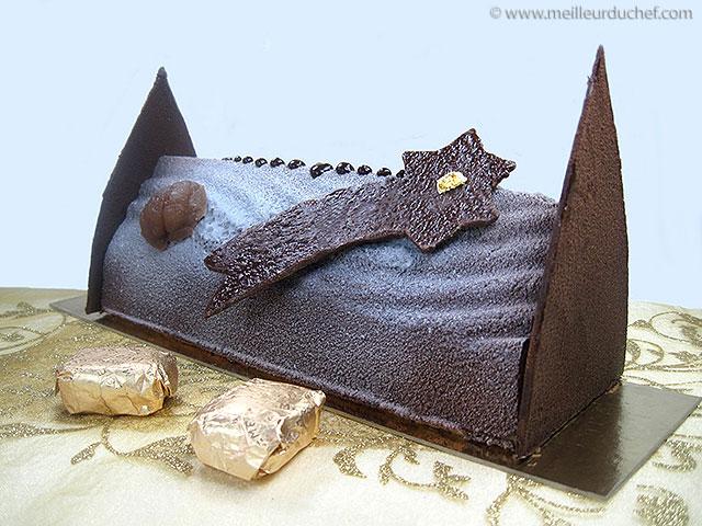 Bûche de noël marron/chocolat  la recette avec photos ...