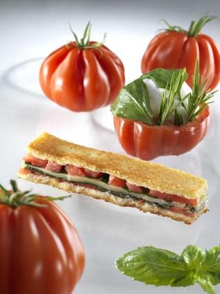 Recette de croque tomate cœur-de-boeuf