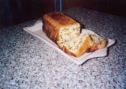 Recette de pain de courgettes