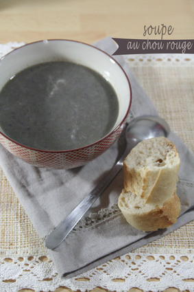 Recette de soupe au chou rouge