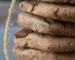 Recette cookies aux éclats de noisettes et pépites au chocolat au lait