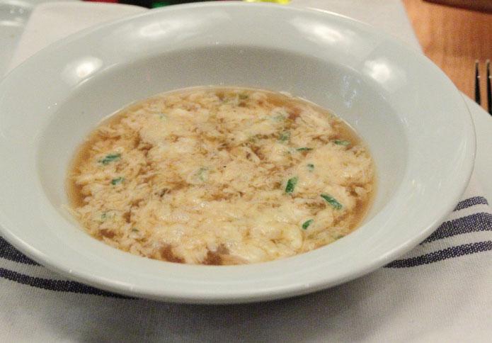 Stracciatella : soupe romaine