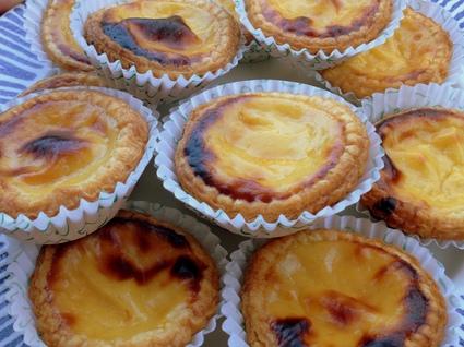 Recette de pasteis de nata comme au portugal