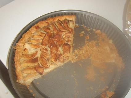 Recette de tarte amandine pomme cannelle