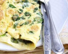 Recette l'omelette aux fines herbes des recettes du bonheur