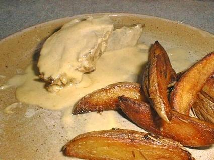 Recette de filet mignon à la moutarde et pommes aux herbes