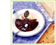 Recette gâteau d'ebly créole et sa sauce chocolat