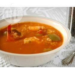 Recette la soupe de crevettes cajun de big ed – toutes les recettes ...