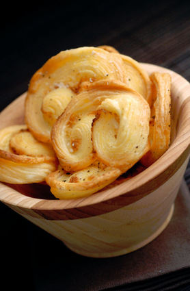 Recette de palmiers au beurre de noisette et fromage