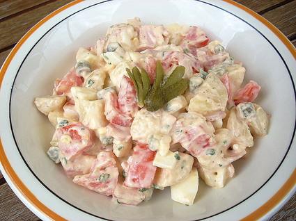 Recette de salade piémontaise traditionnelle