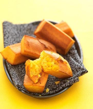 Recette de petits pains au maïs d'aucy
