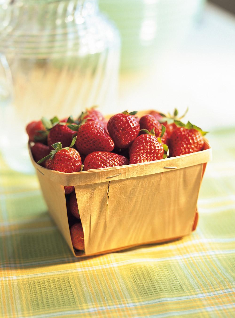 Confiture de fraises d'automne à la menthe sans cuisson | ricardo