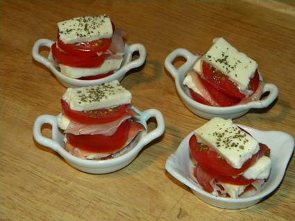 Recette de mille-feuilles de tomate