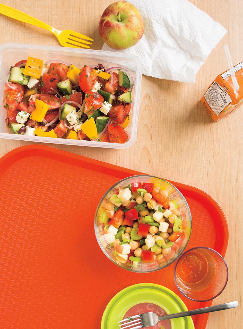 Salade de pois chiches | ricardo