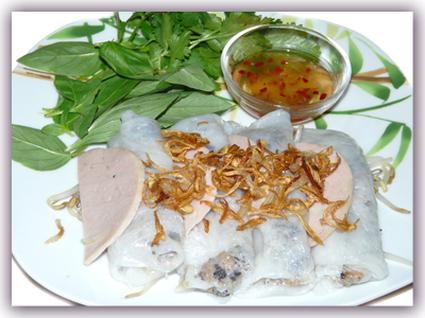 Recette de banh cuon  crêpes vietnamienne à la vapeur