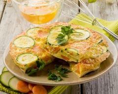 Recette quiche sans pâte carottes et saumon fumé aux courgettes ...