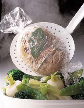 Jarret de veau à la vapeur et aux légumes pour 4 personnes ...