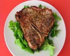 Recette steak grillé à l'italienne