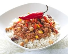 Recette chili con carne texan