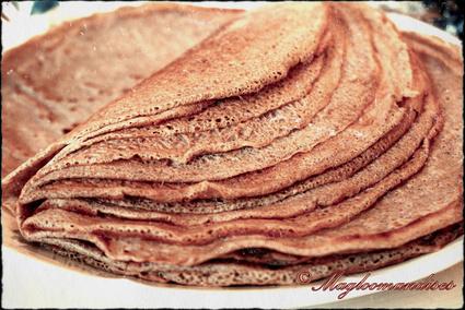 Recette de pâte à galettes de blé noir (crêpes au sarrasin)