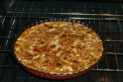 Recette de quiche sans pâte à la tomate et à la mozzarella
