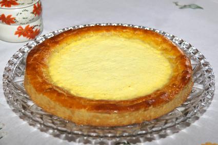 Recette de tarte briochée à la crème brûlée
