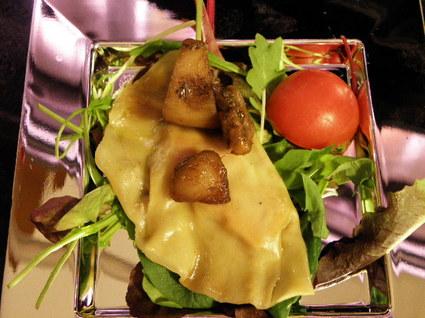 Recette de ravioles aux cèpes et au foie gras