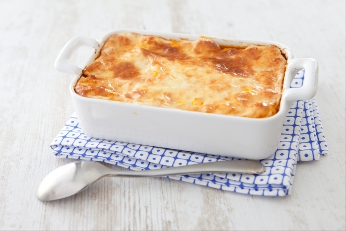 Recette de gratin de canard au potimarron et chèvre frais facile et ...