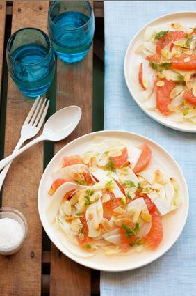 Recette de salade orlando au pamplemousse et fenouil