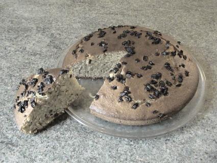 Recette de gâteau de fruits secs
