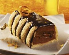 Recette bûche légère à la mousse au chocolat