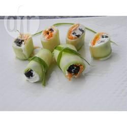 Recette rouleaux de concombres façon maki – toutes les recettes ...