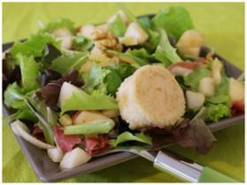 Salade hivernale sucrée salée pour 2 personnes