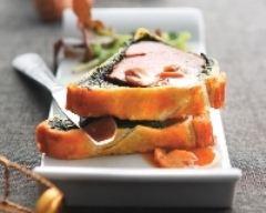 Recette feuilleté de filet mignon aux épinards
