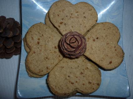 Recette de sablés aux amandes et épices