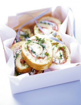 Canapés saumon aneth pour 6 personnes