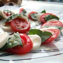 Recette salade tomates mozzarella – toutes les recettes allrecipes