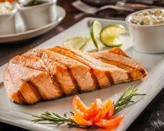 Recette saumon au sirop d'érable cuit au barbecue